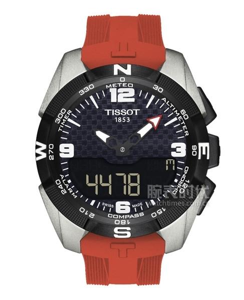 图7:天梭腾智系列雅加达亚运会特别款腕表
