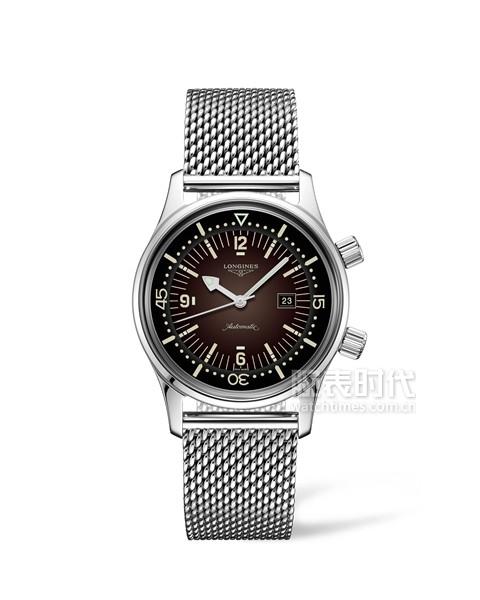 浪琴表经典复刻系列新款传奇潜水员腕表-L3.374.4.60.6