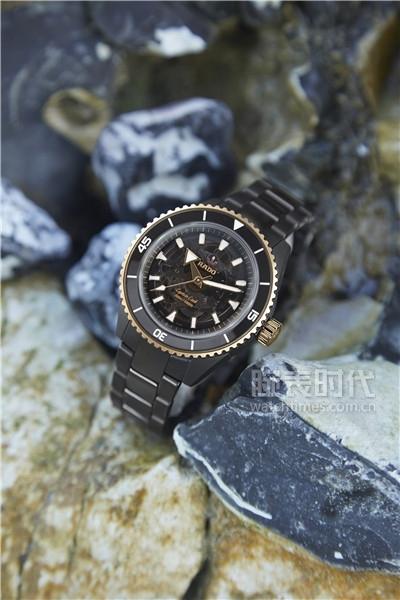 全新Rado瑞士雷达表Captain Cook库克船长系列高科技陶瓷腕表
