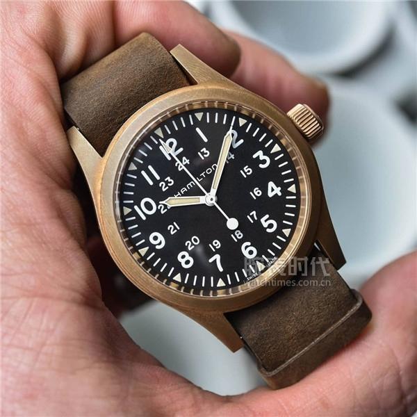 6000的青銅腕表來了,漢米爾頓卡其野戰系列機械青銅腕表