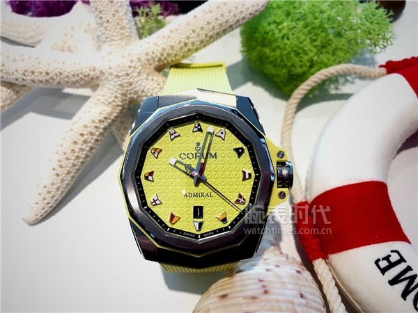 Admiral AC-ONE 45 Auto (yellow dial)