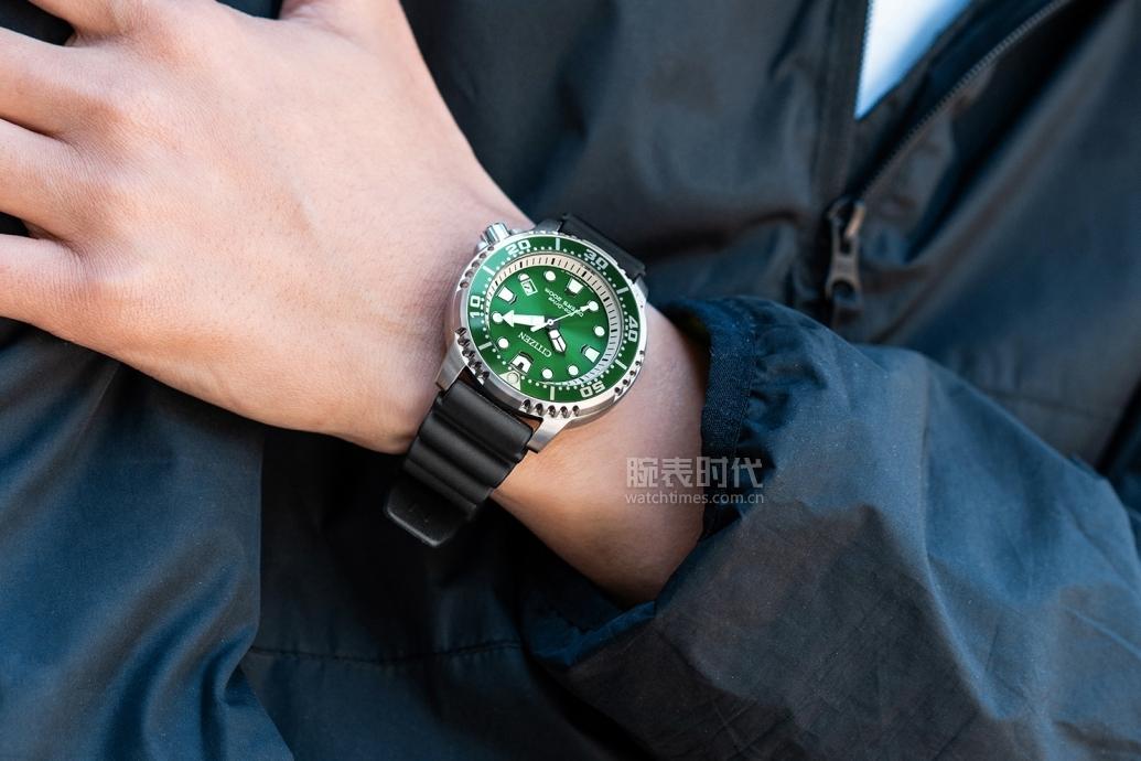 适合夏天的七款西铁城腕表,2000多的平民绿水鬼不要错过