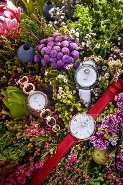 圖4:天梭弗拉明戈系列腕表、天梭心媛系列腕表和天梭臻時系列腕表