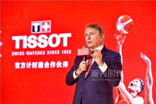 圖12:TISSOT天梭表全球總裁弗朗索瓦·添寶先生致辭