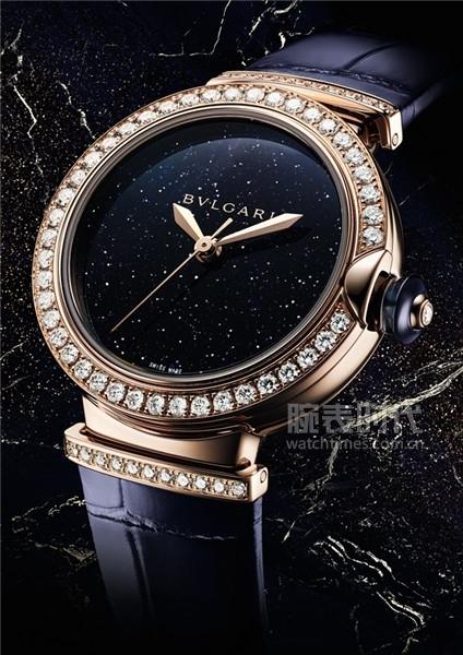1_寶格麗LVCEA系列Aventurine砂金石腕表