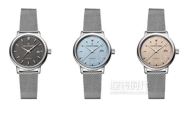爱德玛尔系列自动日历腕表深灰色表盘_2