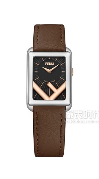 Fendi Timepieces_Run Away Rectangle_Two-tone_01