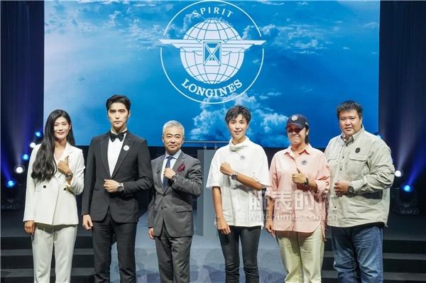 浪琴表先行者系列盛大发布-浪琴表副总裁李力先生携手当代先行者亮相
