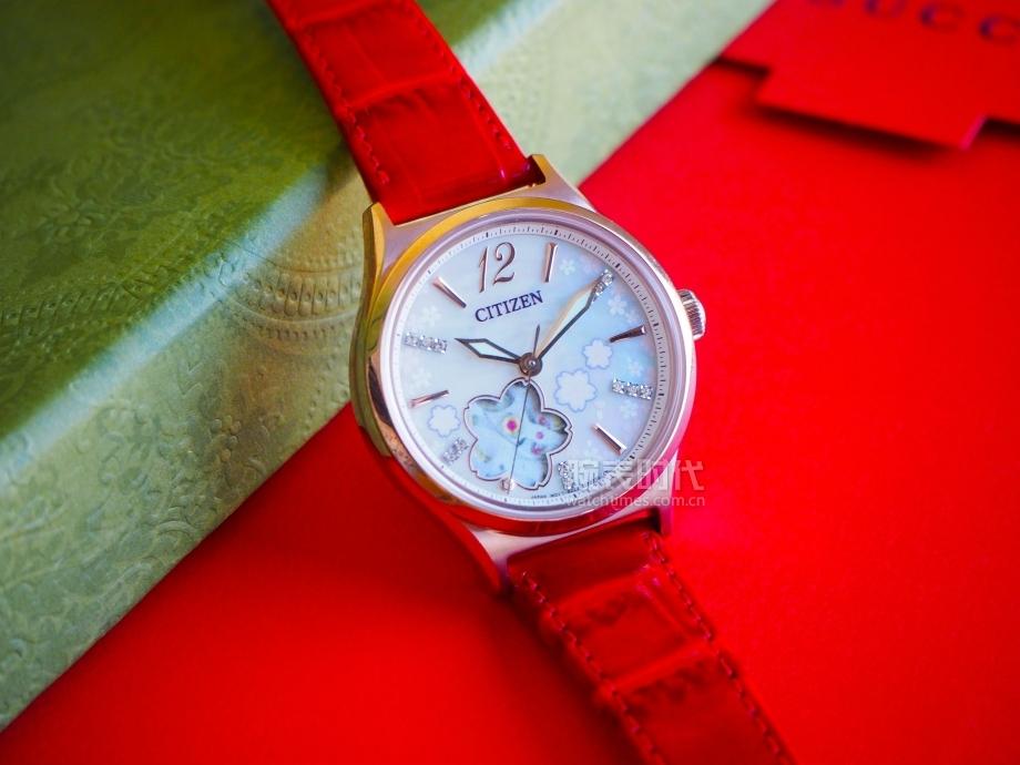 最适合小仙女的机械表,Hebe宠爱的西铁城樱花腕表真的好美!