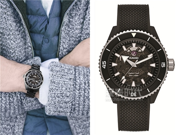 Rado瑞士雷达表Captain Cook库克船长系列高科技陶瓷腕表 2