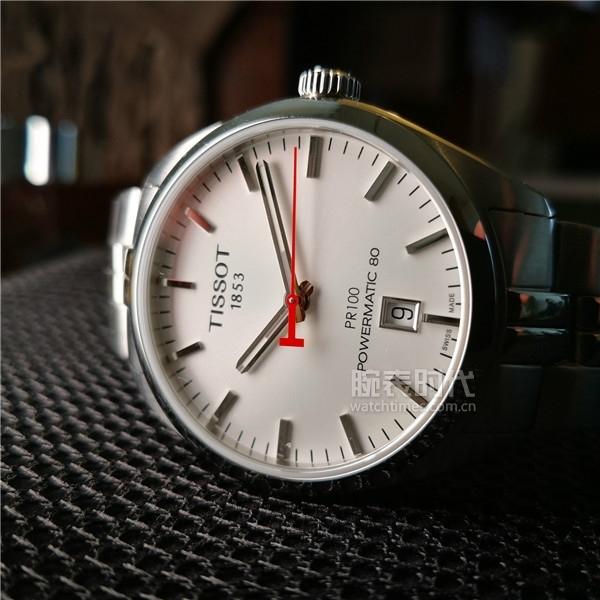 图3:天梭PR100系列亚运会特别款腕表实拍