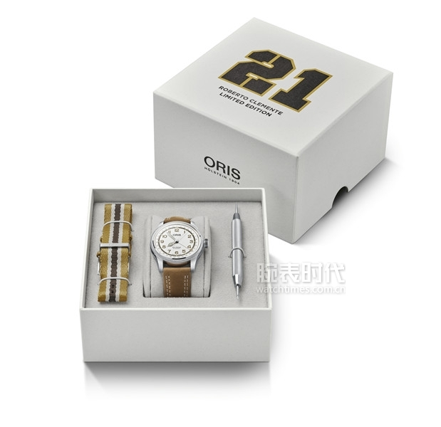 01 754 7741 4081-Set - Oris Roberto Clemente Limited Edition_HighRes_12190