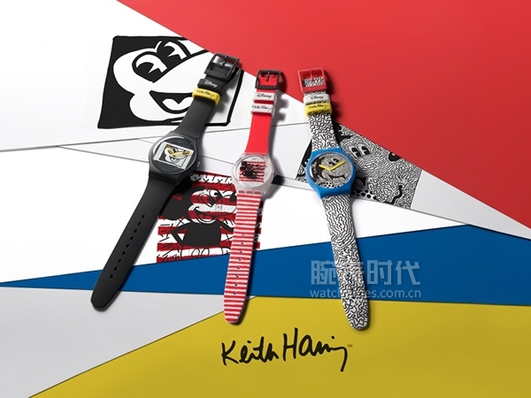 DISNEY MICKEY MOUSE x KEITH HARING COLLECTION by SWATCH