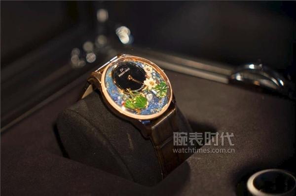 碧波游錦鯉,步步生幻蓮 雅克德羅錦鯉幻蓮自動玩偶腕表于中國隆重發布