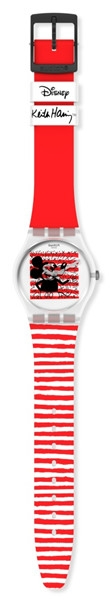 DISNEY MICKEY MOUSE x KEITH HARING COLLECTION by SWATCH 跃动米奇 全身图