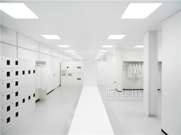 IWC万国表全新制表中心_机芯装配洁净室