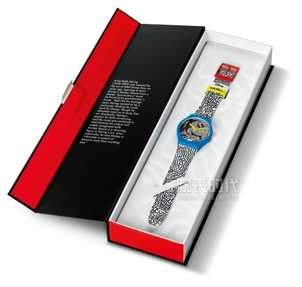 DISNEY MICKEY MOUSE x KEITH HARING COLLECTION by SWATCH 表盒