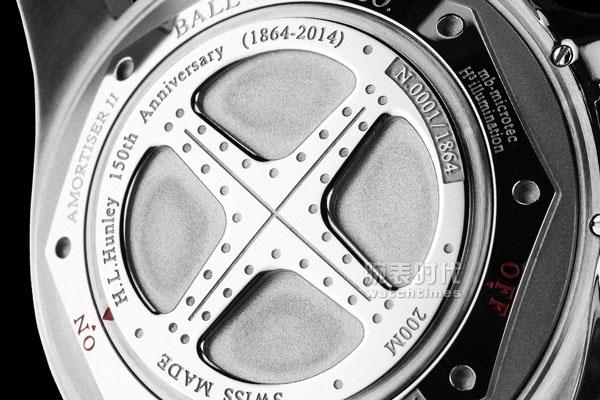 防震耐磁高亮 波爾推出青銅星/銀鋼星腕表7