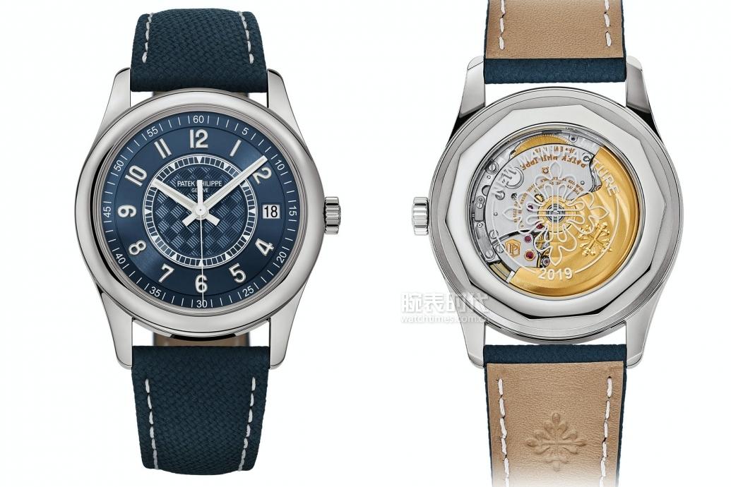 真钱现金买球平台第一块百达翡丽,是一款钢壳大三针CALATRAVA限量腕表