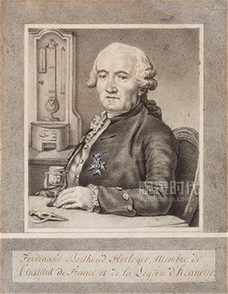 Portrait Ferdinand Berthoud crayon - web