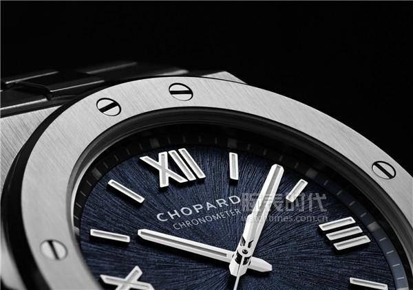 Chopard蕭邦Alpine Eagle雪山傲翼系列腕表 表盤細節