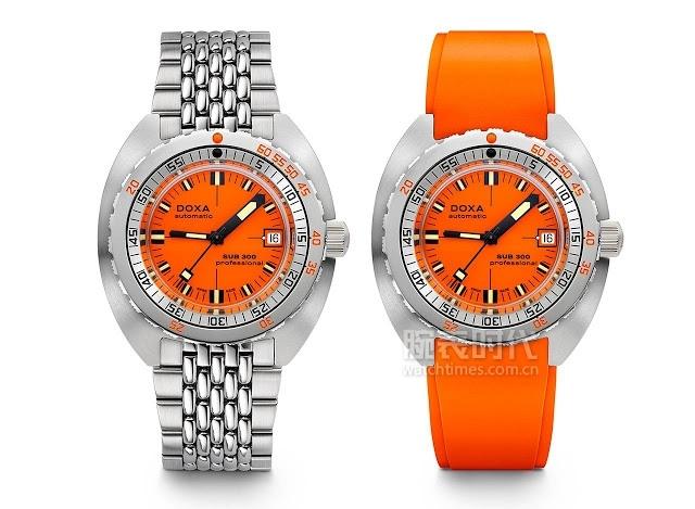 八万八以内,7款2020橙面腕表盘点