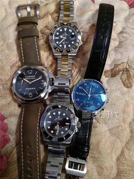 【秀表堂】我的兩個大表徑腕表:沛納海442和百年靈終極計時