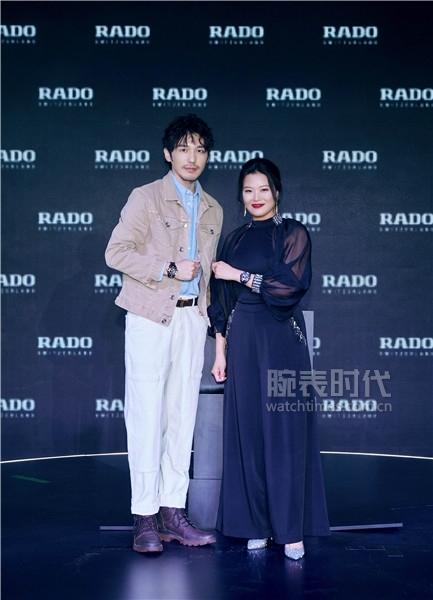 Rado瑞士雷达表中国区副总裁巴布莉莎女士与白宇共同发布库克船长系列高科技陶瓷腕表