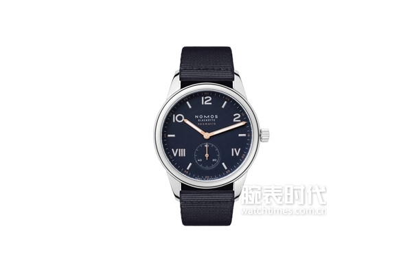 Club Campus neomatik 39 midnight blue with strap (ref. 767)