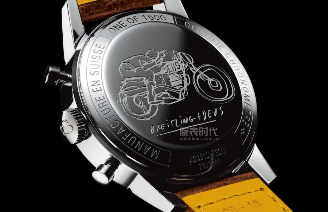 丑萌丑萌的熊猫盘,百年灵TOP TIME DEUS限量版腕表