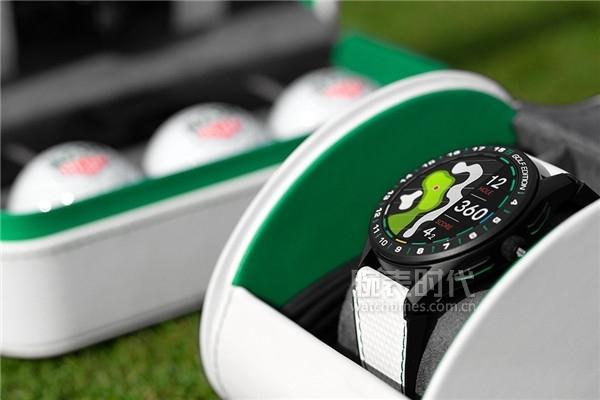 泰格豪雅Connected智能腕表高爾夫版配備旅行表盒及配件盒