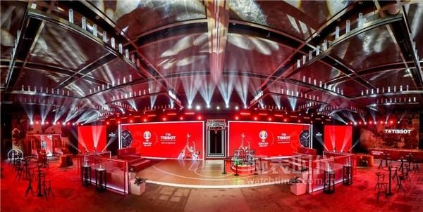 圖7:TISSOT天梭表2019國際籃聯籃球世界杯決賽派對現場