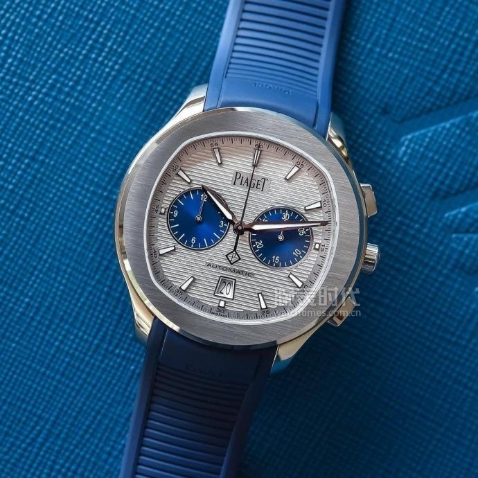 """白襯衫絕配,""""藍眼睛""""的PIAGET伯爵POLO CHRONOGRAPH腕表"""