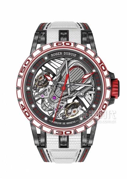 羅杰杜彼Excalibur Aventador S系列腕表(白色款)