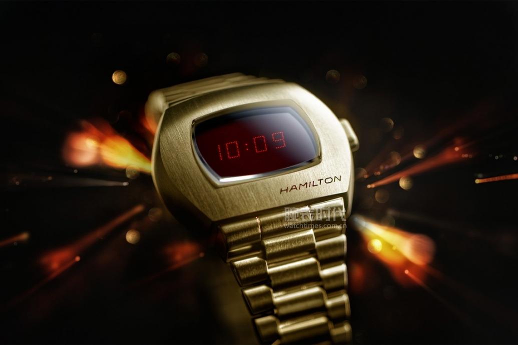 世界首款數字腕表回歸!總統戴過,曾是奢侈品