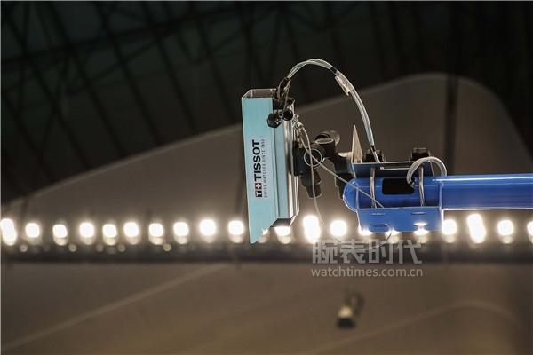 图5:天梭表为亚运会游泳比赛提供计时计分系统及高速摄像机