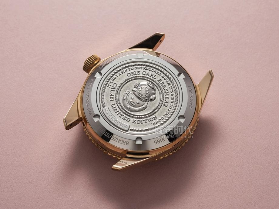豪利时第一枚自产机芯青铜腕表,比帝舵便宜2000多