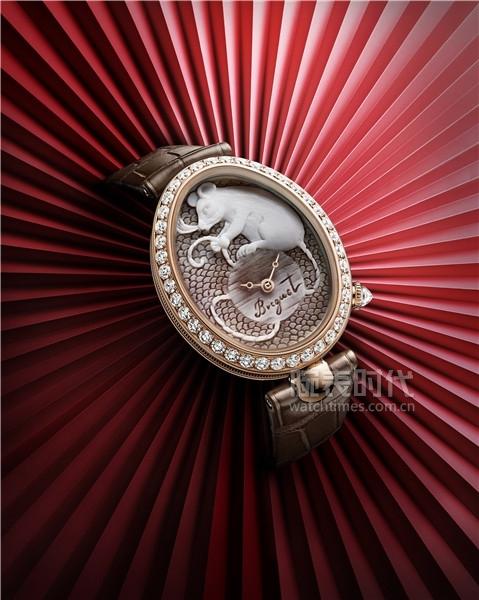 03. 宝玑Reine de Naples那不勒斯王后系列8955贝壳浮雕腕表 (2)