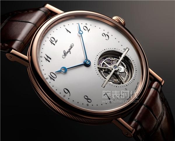14. 宝玑Classique经典系列5367超薄自动上链陀飞轮腕表