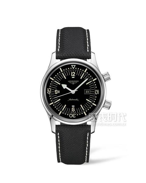 浪琴表经典复刻系列新款传奇潜水员腕表-L3.374.4.50.0