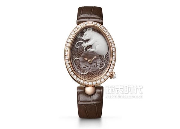 01. 宝玑Reine de Naples那不勒斯王后系列8955贝壳浮雕腕表