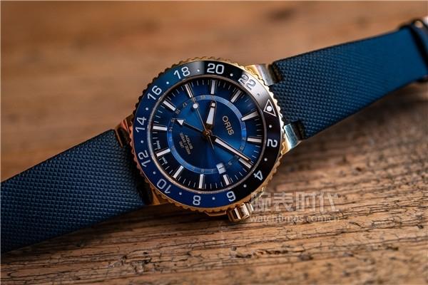 13萬的豪利時藍黑圈GMT金表,你怎么看?