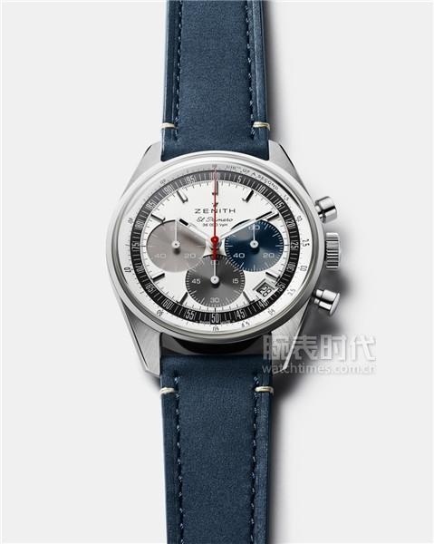 ZENITH真力時CHRONOMASTER Original腕表繼承A386腕表固有元素并加以精妙創意