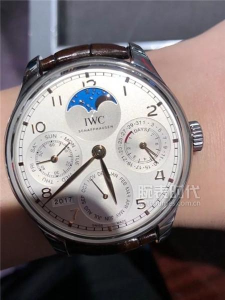 【秀表堂】万国葡萄牙万年历上海限量版等5款腕表