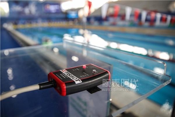 图2:天梭表游泳计时发号器,用以同步对所有选手发出出发指令