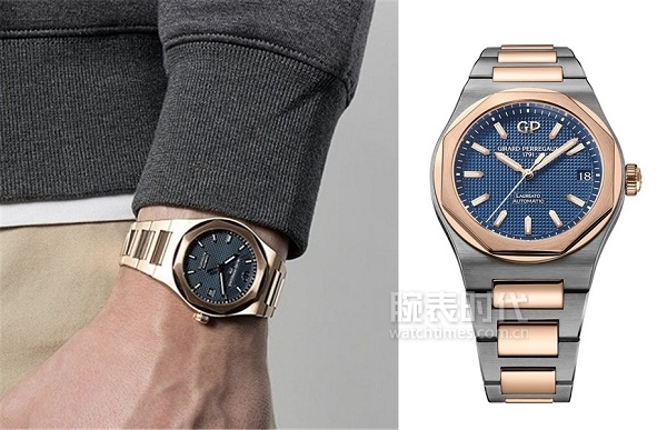 GP芝柏表Laureato桂冠系列42毫米腕表,复古现代