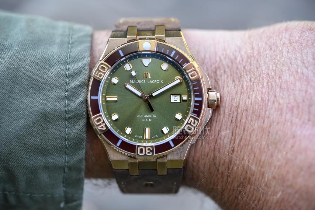青銅綠盤腕表,2020年又新增了這四款