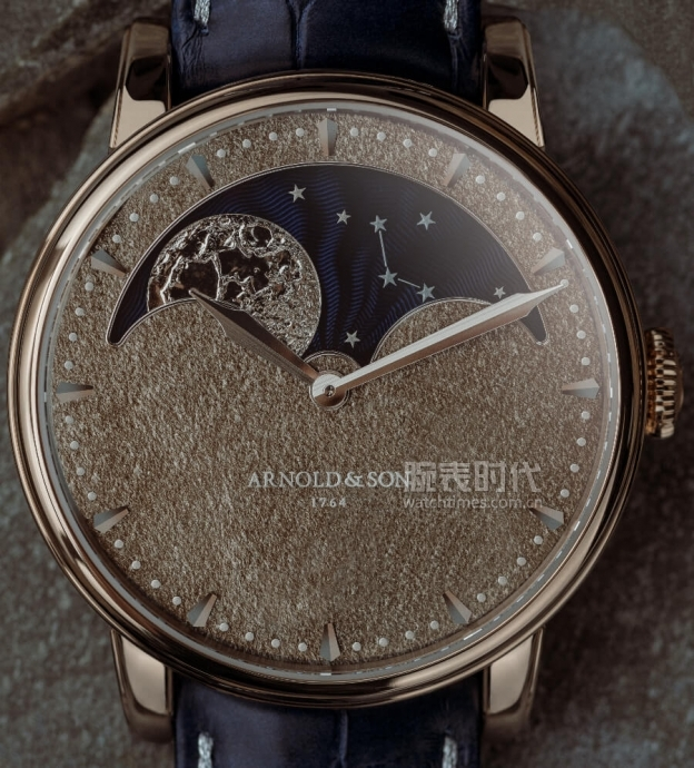 絕對大到你滿足,Arnold & Son Perpetual Moon Obsidian腕表
