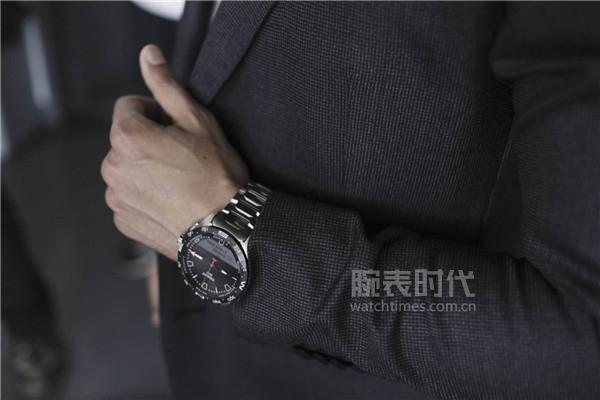 圖1:天梭騰智·無界系列腕表