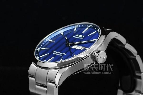 萬元天文臺表,美度新款藍舵手
